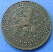 Nederland - The Netherlands 1 cent 1904 KM# 132.1