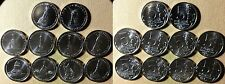 Russia  : 2012 5 Roubles Complete Commemorative 1812 Set(10 Coins )   IR4155