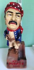 ADVERTISING FIGURE WILLS PIRATE SHAG TOBACCO  37CMS TALL