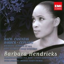 Bach Cantatas & Barber Copland, New Music
