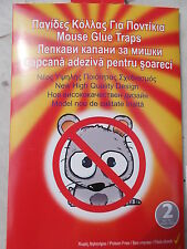20 PIECES NEW Trapper  Sticky Glue Mice Traps Board Rodent Mouse Rat Bugs Safe