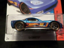 HW HOT WHEELS 2015 HW RACE #131/250 C6 CORVETTE HOTWHEELS BLUE VHTF CHEVY