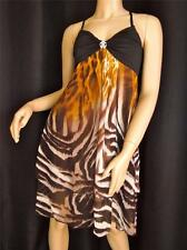 ROBERTO CAVALLI DRESS 'IL SIENNA' 6 M IT40  LIQUIDATION FINAL SALE !