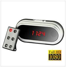 Full HD 1080P Spy Wecker Spionage Kamera Clock Nanny Uhr Fernbedienung 8GB