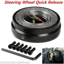 Universal Auto Car Steering Wheel Quick Release Hub Adapter Snap Off Boss Kit