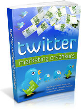 Twitter marketing curso intensivo-ebook-incluyendo Master reseller licencia