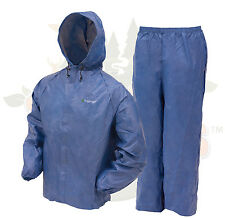 Frogg Toggs DriDucks Ultra LIte 2 II Rain Gear Suit Wear DriDuck Frog Blue XL