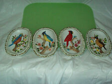 4 Older Norleans Bird Wall Plaques / Wall Hangers