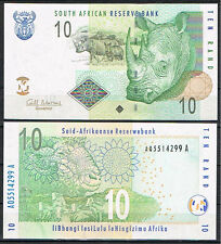 SUDAFRICA - SOUTH AFRICA 10  RAND 2009 Pick  128   SC  UNC