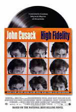 "HIGH FIDELITY Movie Poster [Licensed-NEW-USA] 27x40"" Theater Size John Cusack"