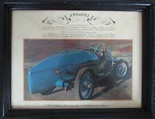 Vintage 1909 Bugatti Type 23 Framed Print by E. Kuhn German