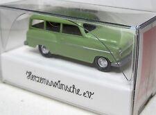 Wiking 1:87 Opel Olympia 1956 Caravan OVP blassgrün - Münster Classics 2013