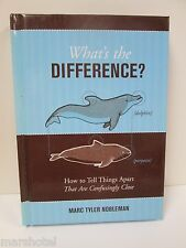 WHAT'S THE DIFFERENCE? HOW TO TELL THINGS APART BOOK HARDCOVER
