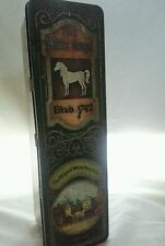 Vintage The White Horse Scotch Whisky Advertising Tin Edinburgh Scotland