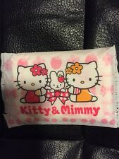 Sanrio 1976 2001 HELLO KITTY  KITTY & MIMMY pocket tissues