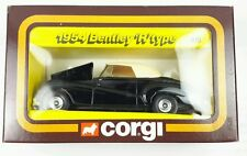 "NEW Vintage Corgi 815 1954 BENTLEY ""R"" TYPE Black"