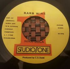 "Nina Sola Barb Wire US 7"" Listen !"