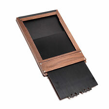 4x5 Black Walnut Wooden Film Holder per Sinar Toyo Linhof Horseman