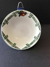 Cades Cove Citation Apples Round Vegetable Serving Bowl  Excellent Shows No Wear