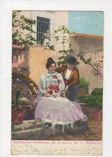 Costumbres Anadaluces En La Huerta del tia Millindris Spain 1911 Postcard 598a