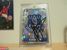 *1 OF 1* MEGA RARE Match Attax 15/16 SIGNED John Stones EVERTON Badge Hologram