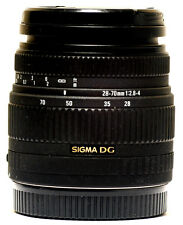 Sigma DG 28-70mm f/2.8-4 zoom Lens Canon 1D-X/5D/6D AF/EOS Digital and Film