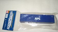 Walthers HO 40' Hi-Cube Corrugated Container APL #949-8259 NIB