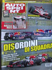 Autosprint 22 2010 Ferrari delusione Alonso Gp Turchia suicidio RED BULL [SC.49]
