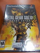 Metal Gear Solid 3: Snake Eater. PS2 *Brand New and Sealed!*