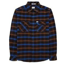 MATIX Becker Flannel Shirt (M) Black