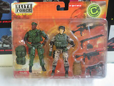 Night Ops #21511 Elite Force Combat Command (BBI 2005) 1/18 Scale Accesory Set
