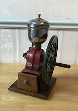 Vintage Cast Iron David Birch Style Manual Coffee Grinder c1950-60s