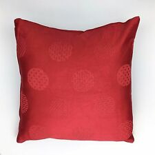 Traditional Red Cushion Cover-100% Cotton Pillow Case Home Sofa Decor 16 Inch