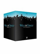 COFANETTO DVD - WILL E & GRACE SERIE STAGIONE STAGIONI 1 - 8 SERIE TV (34 DVD)