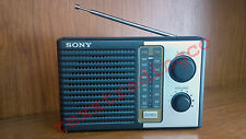 ***NEW*** SONY ICF-F10 Two 2 Band AM FM Battery Radio
