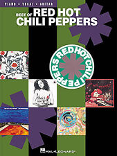Best Of The Red Hot Chili Peppers Learn to Play Pop PIANO Guitar PVG Music Book
