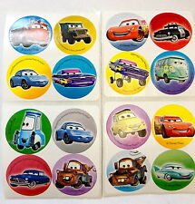 48 Disney Cars Lightning McQueen Stickers Party Favors FREE SHIP
