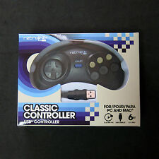 Retrolink Sega Genesis Mega Drive for to PC Mac USB Classic Controller 6 Button
