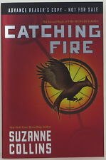 SUZANNE COLLINS Catching Fire SIGNED ADVANCE REVIEW COPY