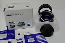 Carl Zeiss 50mm f1.4  Planar T* ZF.2 Prime Lens MIB f/Nikon Film & Digital SLR