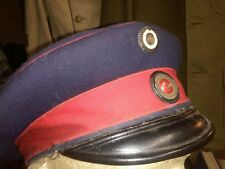 WWI ORIGINAL GERMAN PEAKED CAP