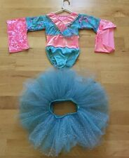 Girls dance tea party dress  play dress-up costume size 5-7 Y