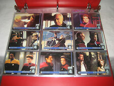 Star Trek VOYAGER PROFILES complete base trading cards AUTOGRAPH chase sets 1998