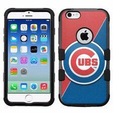 for Apple iPhone 6/6S Rugged Armor Impact Hybrid Case Chicago Cubs #J