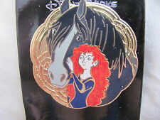 Disney Trading Pins 107451: Brave - Merida and Angus Medallion
