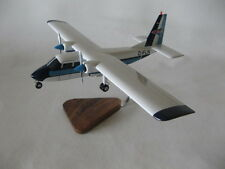 Britten Norman Islander BN-2 FLN Airplane Desktop Wood Model