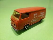 MAJORETTE 244 VW VOLKSWAGEN SIEMENS KLASSE APART - ORANGE 1:60 - GOOD CONDITION