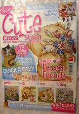 Cute Cross stitch  All our yesterdays , somebunny etc + Free  card kit