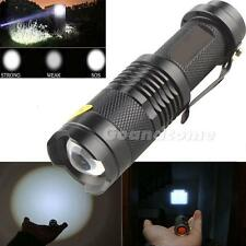 New 2000LM XML T6 Zoomable Zoom Focus LED Flashlight Torch Lamp G1CG