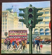 Pop-up. Drehscheibe.. – The Traffic Light Book. Fürth, Löwensohn. EA 1954.